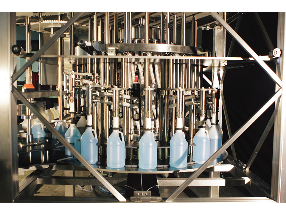 Rotary Liquid Level Filler, Water Beverage Products