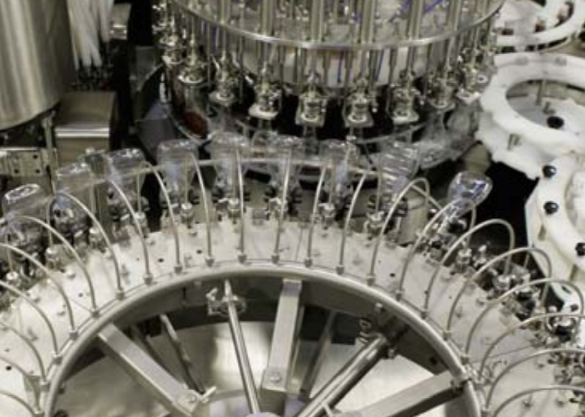 Rotary Rinser Filler And Capper Tribloc Sauces Salad Dressing