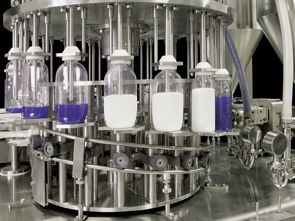 Rotary Volumetric Two-Phase Filler: Special Applications