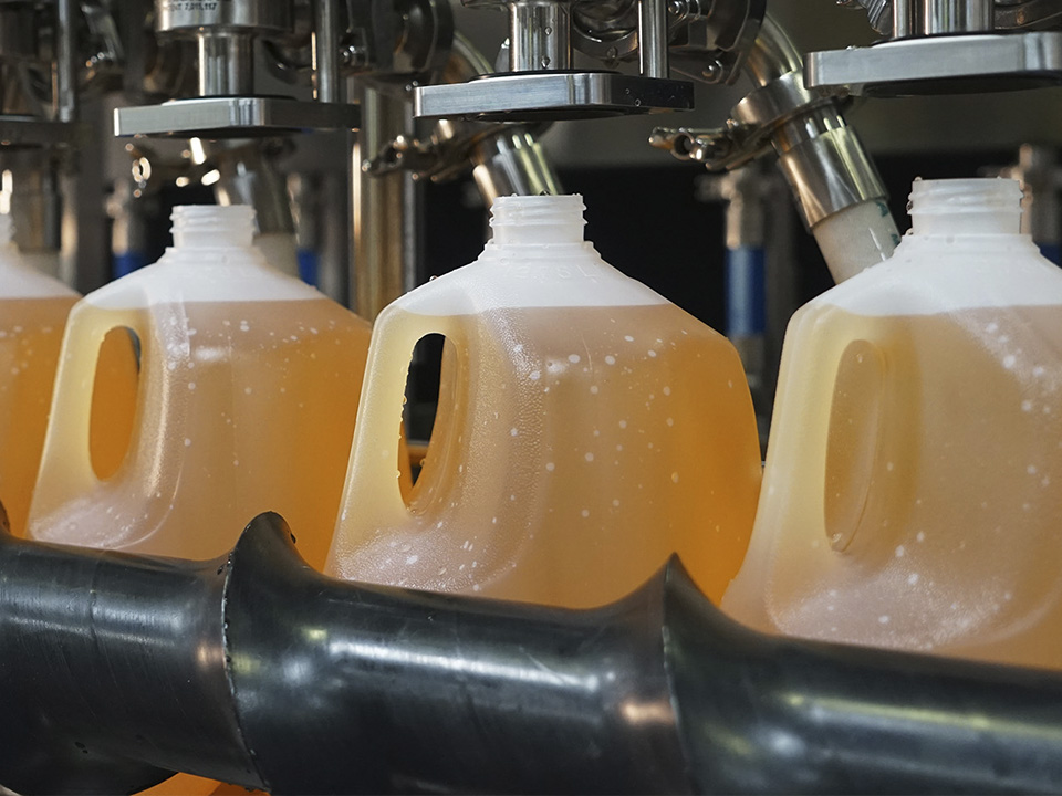 Volumetric Pump Inline Filler Beverages